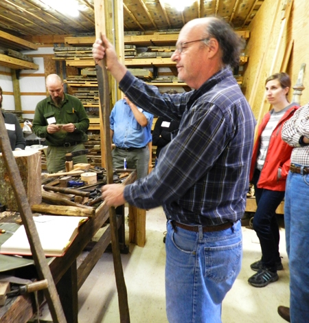 Instructor Hank Handler explains that - while hand tools are fun and interesting to use....