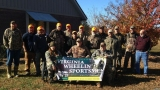 Group photo from our muzzle loader hunt.
