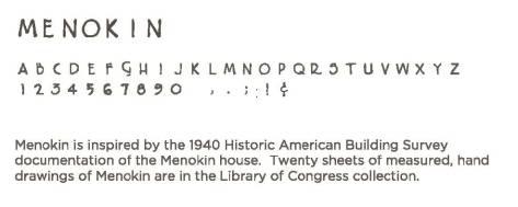 Menokin Font