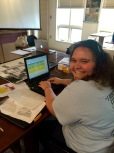 6/25/15 - Sarah is helping us update the database today. There is so much information in the jigsaw puzzle we're trying to put together. But we are finding more of the pieces everyday!