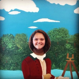 "7/3/15 - Pic from our field trip to George Washington's birthplace. ""Just call me g dubs."""