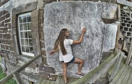 Scaling the actual house... just not as enthusiastically.