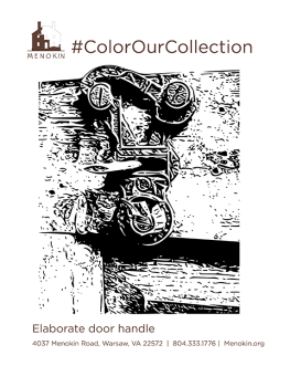 Door Handle_ColorOurCollection