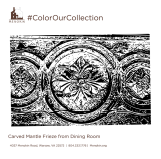 Mantle Frieze_Dining Room_ColorOurCollection